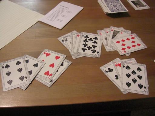 カードの数え方について